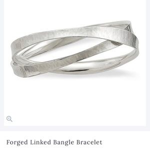 James Avery Forged Linked Bangle Bracelet